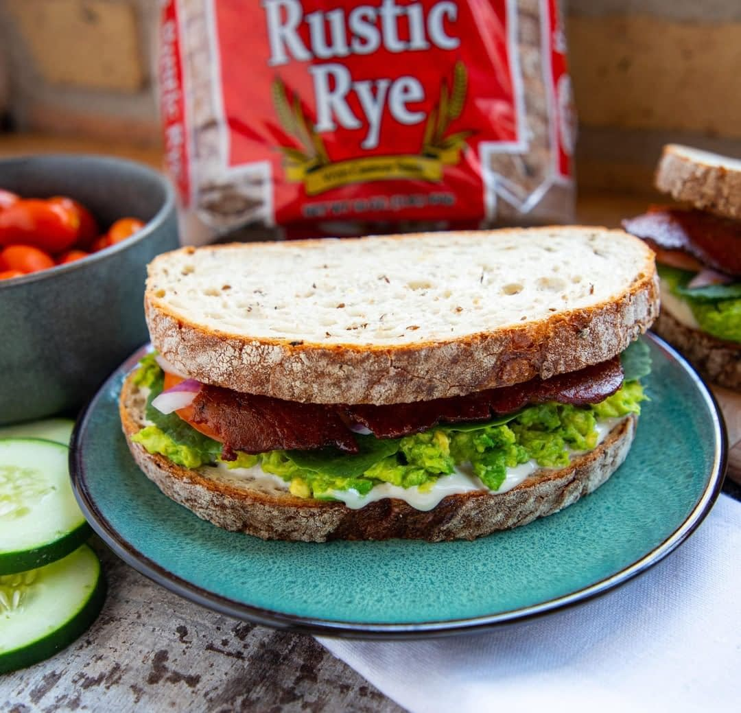 This vegan BLT on our Rustic Rye should really be