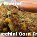 🐰DIY Easter Brunch Ideas⎟Zucchini Corn Fritters⎟How to Make Simple Meals